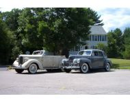 1938 Dodge D8 Convertible Sedan and 1940 Dodge D14 4-Door