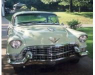 1955 Cadillac Model 62 Coupe