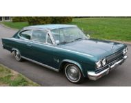 1965 Rambler Marlin 2-Door Fastback