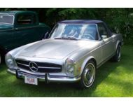 1970 Mercedes Benz 280SL Convertible
